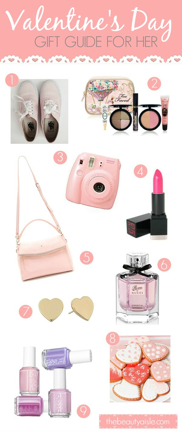 Valentine's Day Gifts for her...any girl would love these!