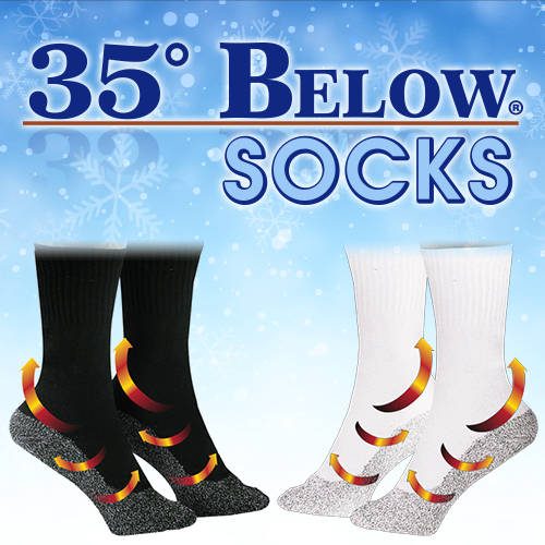 Keep Your Feet Warm & Dry During Those Cold Months!