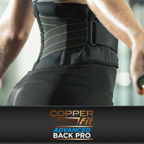 Everyday Back Support – Copper Fit™ Advanced Back PRO